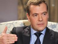 Russia's Medvedev Sees Chance for Moscow-Kiev Cooperation Improvi ..