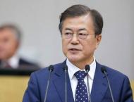 S. Korean president arrives in Kazakhstan on state visit