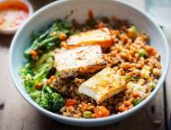 Replacing red meat with plant protein reduces heart disease risk