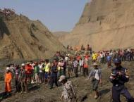 More than 50 feared killed in landslide at Myanmar jade mine