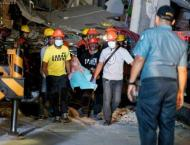Second quake strikes as Philippines hunts for survivors