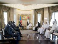 Mohamed bin Zayed, President of South Sudan attend signing of MoU ..