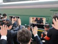 Kim's Train Enroute to Vladivostok Passes Ussuriysk, Nadezhdinska ..