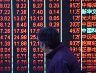 Hong Kong stocks down at close  24 April 2019