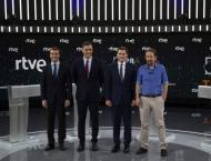 Leaders of Spanish Parties Hold Final Debate Ahead of Snap Electi ..