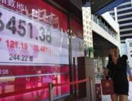Hong Kong, Shanghai stocks end sharply lower 25 April 2019