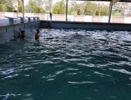 Recreational activities increase at swimming pools