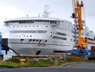 Fire breaks out on Britain-Spain ferry, passengers disembark in F ..