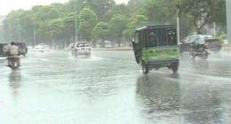 Sialkot City receives heavy rain