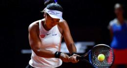 'Kid was depressed': Osaka in first clay quarter-final after 'rough months'