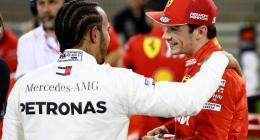 Hamilton sees 'much of myself' in Ferrari's Leclerc