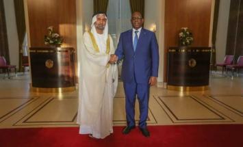 الرئيس السنغالي يستقبل وفد المجلس العالمي ..