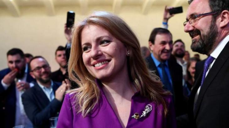 Suzana Caputova elected Slovakia's first female president