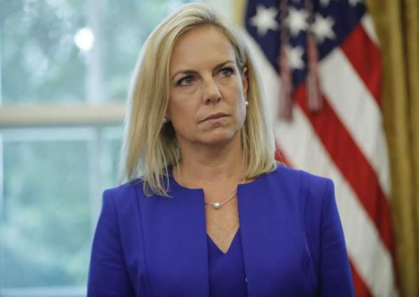 Image result for US Homeland Security Chief Kirstjen Nielsen resigns