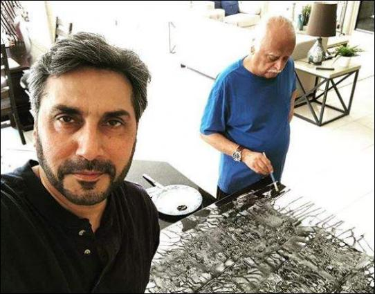 Image result for Adnan Siddiqui Pays Tribute to Anwar Maqsood In An Emotional Instagram Post