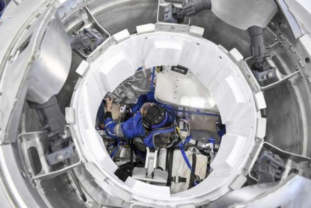 Boeing Astronaut Starts Training for Starliner Flight in Moscow Region - Training Center