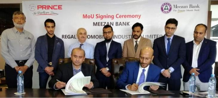 Meezan Bank and Regal Automobile Industries Limited enter into Strategic Alliance for provision of Shariah-compliant Financing Solution and Value-added Services