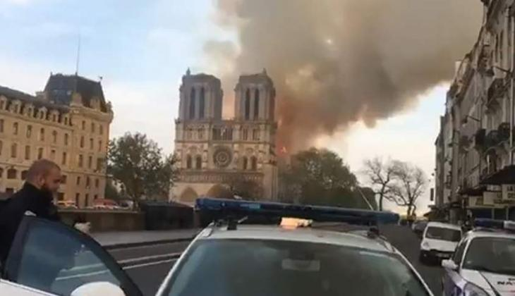 Macron's Majority Suspending European Election Campaign After Notre Dame Fire - Candidate