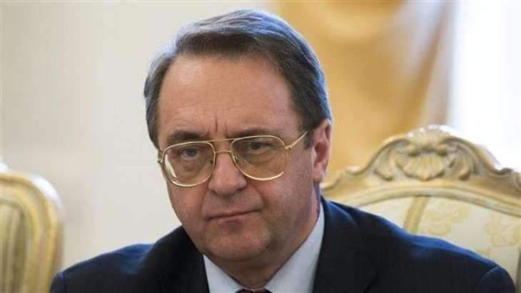 Russian Deputy Foreign Minister Bogdanov Says Moscow Recognizes Sudan's New Authorities