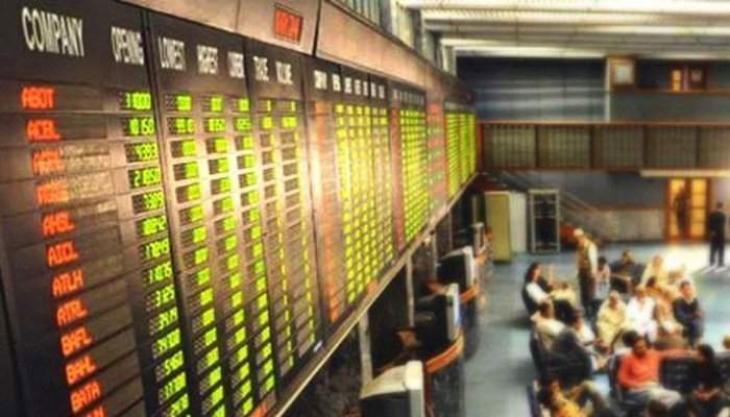 Pakistan Stock Exchange shed 122.13 points 16 Apr 2019