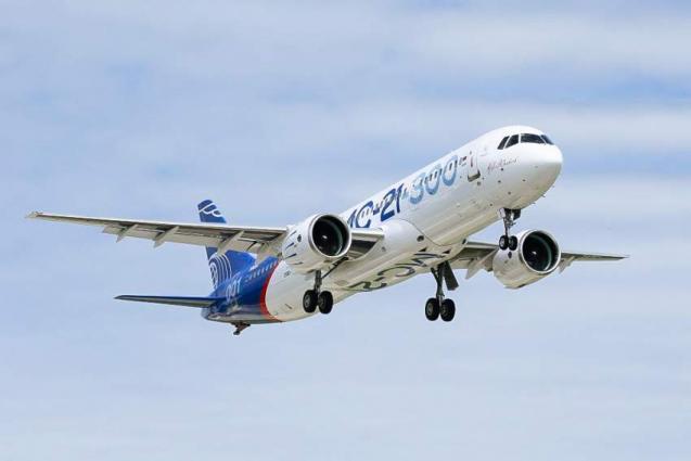 Russian Aircraft Maker Irkut Has Prepaid Orders for 175 MC-21 Jets - Deputy Prime Minister