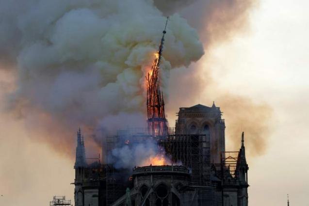 Investigators probe Notre-Dame inferno as donations pour in
