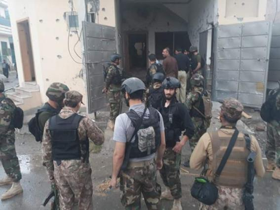 Five terrorists killed in operation, one official martyrederrorists killed, one official martyred in operation in Peshawar.