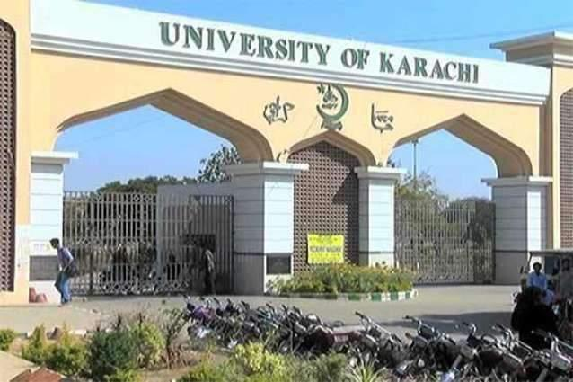 University of Karachi receives cheque of Rs. 78.84m from Sindh Govt.