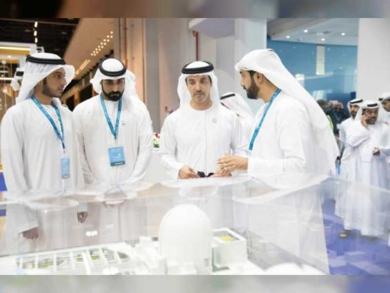 Hazza bin Zayed inspects EmiratesSkills National Competition