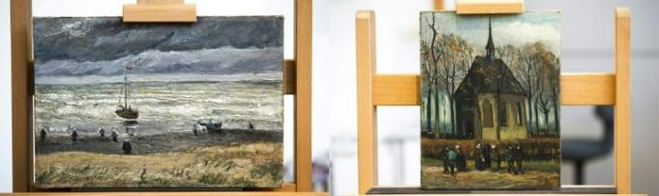 Stolen Van Goghs due back on display after 16 years