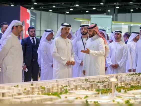 Hazza bin Zayed launches Cityscape Abu Dhabi 2019