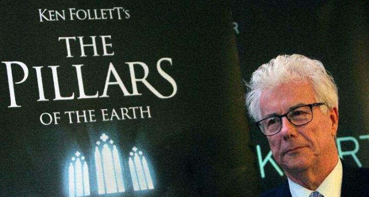 'Pillars of Earth' author Follett mourns Notre-Dame