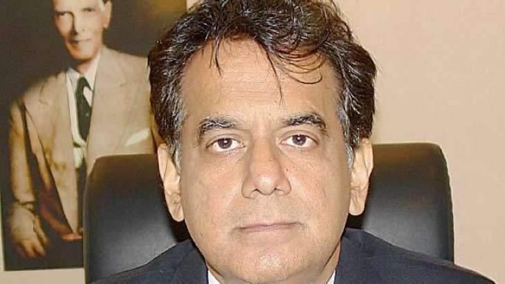 Commissioner Karachi visits National Hospital to enquire infant Nashwa's health