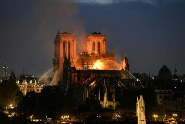 Donors pledge nearly 700 mn euros to rebuild Notre-Dame