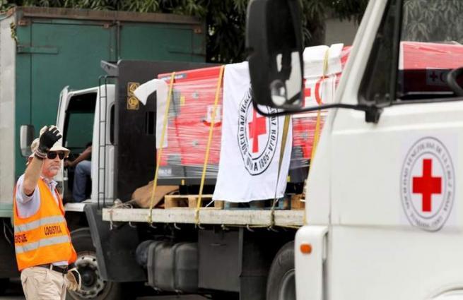First Red Cross humanitarian aid arrives in Venezuela