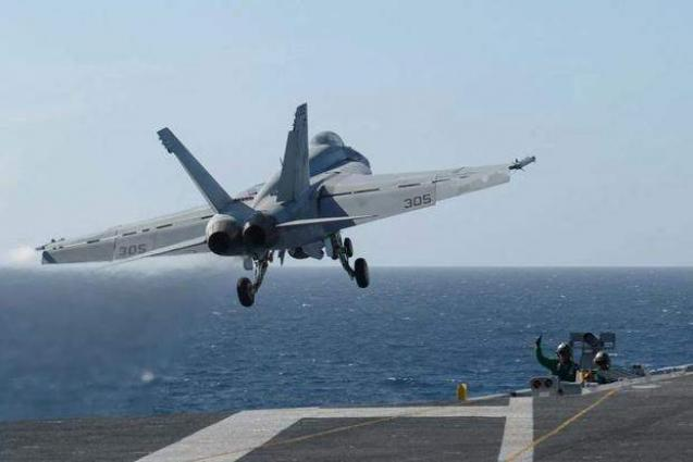 US Navy Boosts F-18 Jets Readiness From Less Then 50% to 76% in 18 Months - Vice Chief
