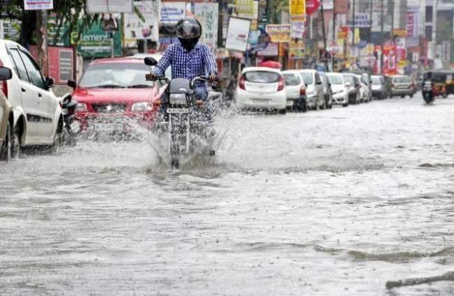 Jhang City receives heavy rain