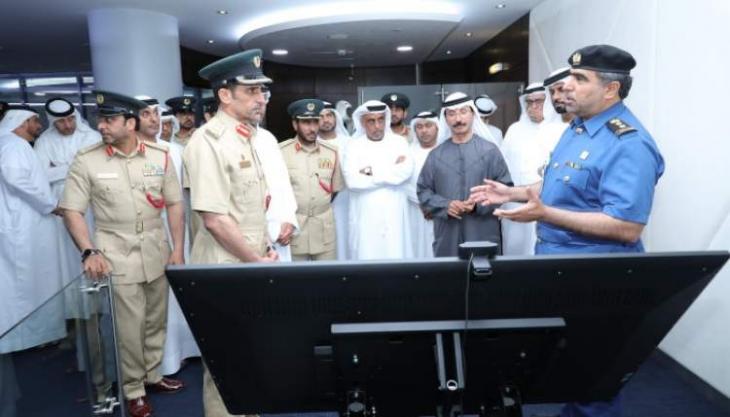 Dubai Customs, Dubai Police discuss further security cooperation