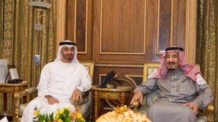 King Salman, Mohamed bin Zayed discuss latest regional, global developments and challenges
