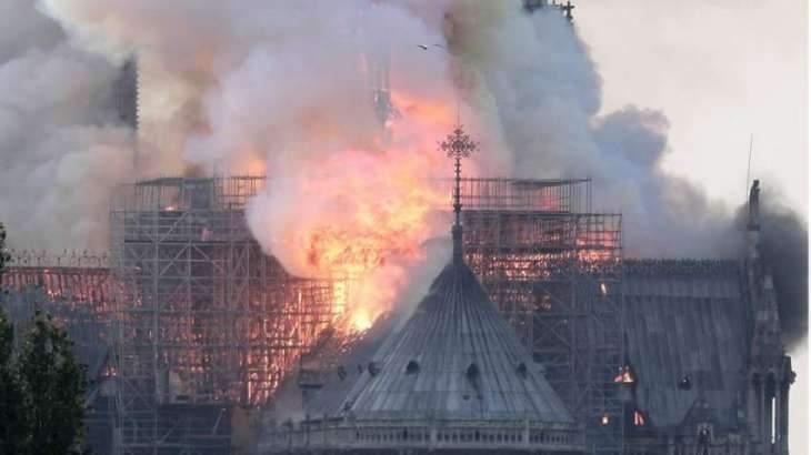 Heart of Paris on Fire: French Media Coverage of Notre Dame Cathedral Fire