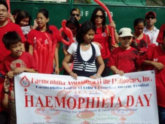 Medical expert calls for 'public awareness' on World Hemophilia Day