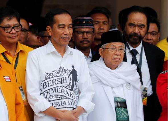 Indonesia's Joko Widodo on track to win presidency: pollsters