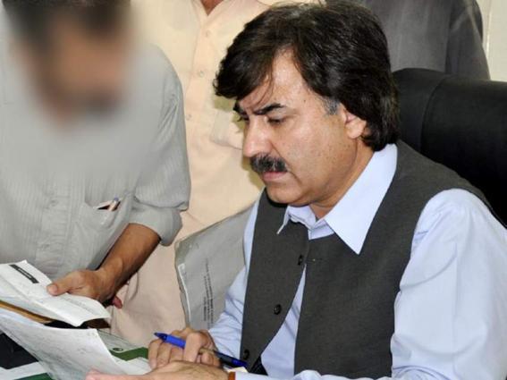 Deputy Commissioner Shaukat Ali Yosafzai  assures to resolves problems facing GHS Balambat