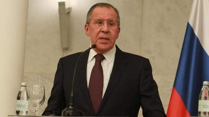 Lavrov Says Syria's Return to Arab League Would Enable Organization to Boost Settlement