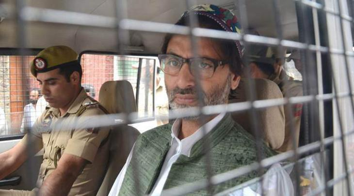 Image result for Pakistan Condemns Illegal Detention of Yasin Malik