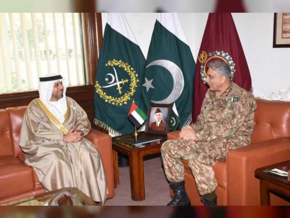 UAE Ambassador meets Pakistan's Chief of Army Staff