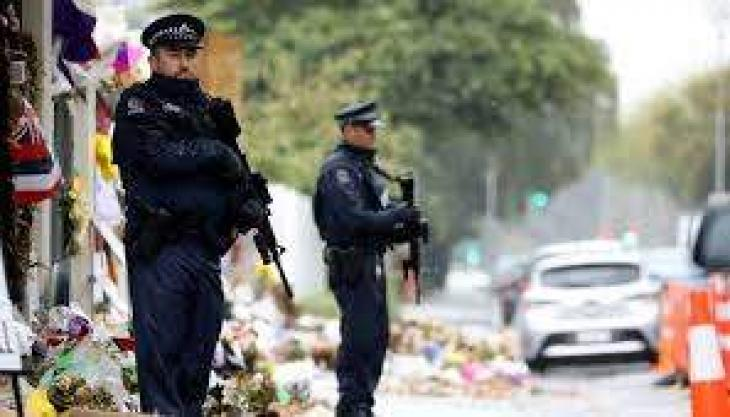 New Zealand disarms police as terror threat level lowered