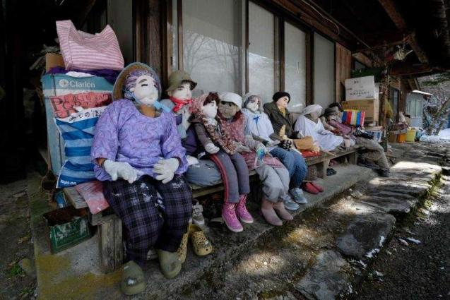 Valley of the dolls: scarecrows outnumber people in Japan 'depopulated' village