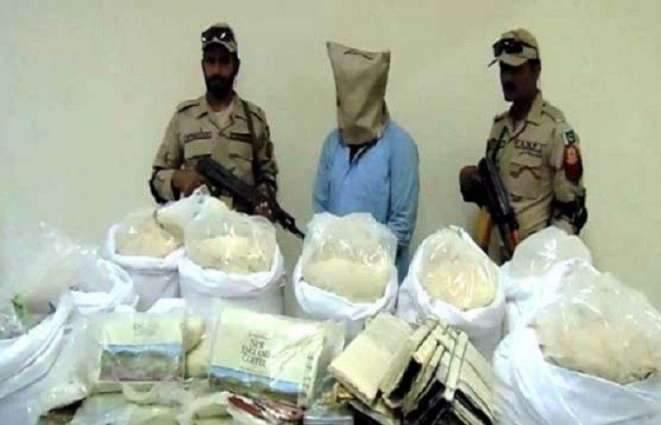 Control of Narcotics Substance (CNS) court awards seven year imprisonment to narcotics smuggler