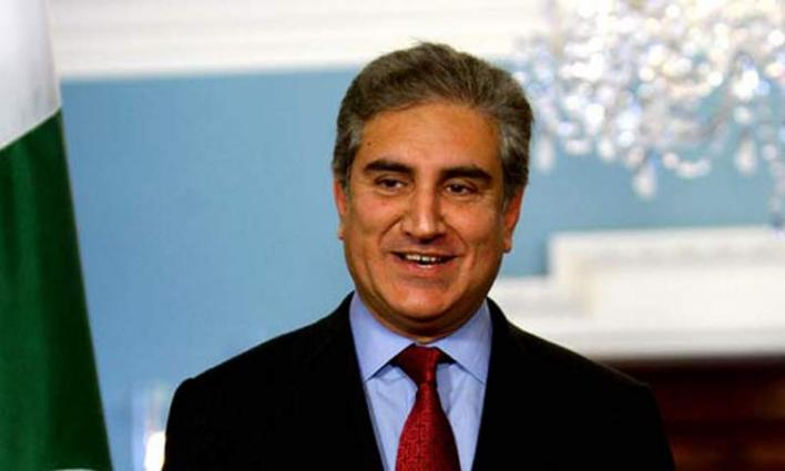 New foreign office secretary calls on Foreign Minister (FM) Shah Mehmood Qureshi